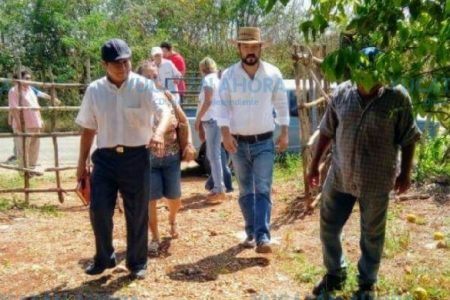 Seguridad, salud y apoyo al campo, temas que atenderá Luis Borjas