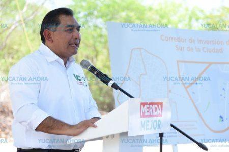 Proyecta Víctor Caballero plazas, cines y parques recreativos para el sur de Mérida