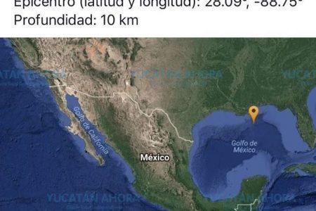 Descartan riesgos para Yucatán por sismo cerca de Estados Unidos