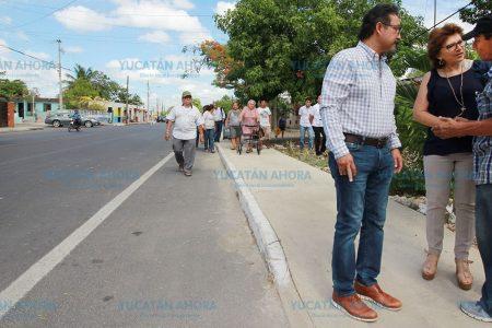 Supervisan que las calles repavimentadas sean trabajos de calidad