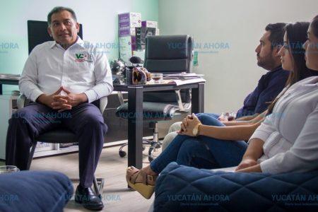 Víctor Caballero va contra el causante de tantos males de salud de los meridanos