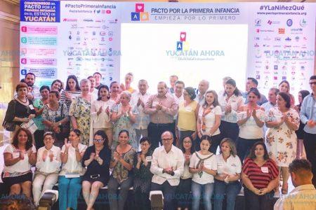 Llaman a los candidatos a gobernar Yucatán a firmar pacto a favor de niñez