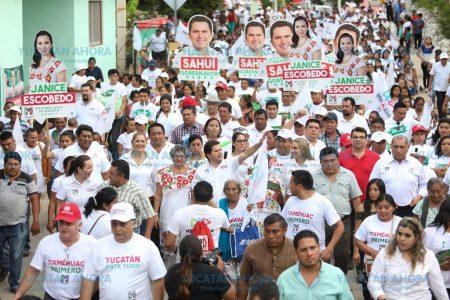 Con ayuda de campesinos, Mauricio Sahuí quiere volver Yucatán en potencia alimentaria
