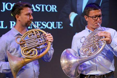 Singular concierto de la Sinfónica de Yucatán para dos cornos con invitados de lujo