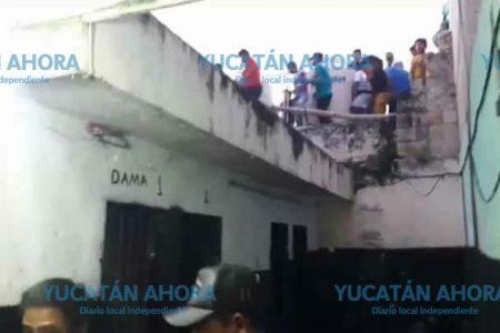 Que solo estaban de mirones, dicen los detenidos durante los disturbios en Teabo