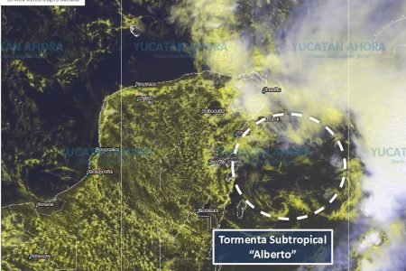 'Alberto' dejará lluvias fuertes en el oriente de Yucatán
