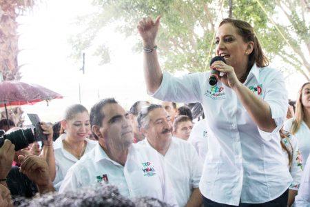 Yucatán es referente de triunfo, afirma Claudia Ruiz Massieu