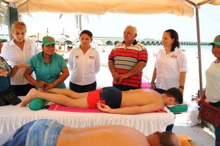 Haremos que Progreso siga de moda, dice Carmen Ordaz a 'turisteros'