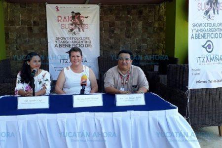 Raíces Sureñas bailan a favor de la Fundación Itzamná