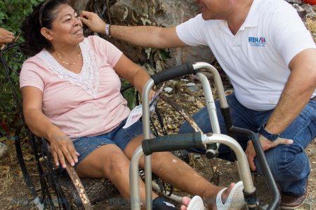 Vamos a terminar con el rezago social en Mérida, ofrece Renán Barrera