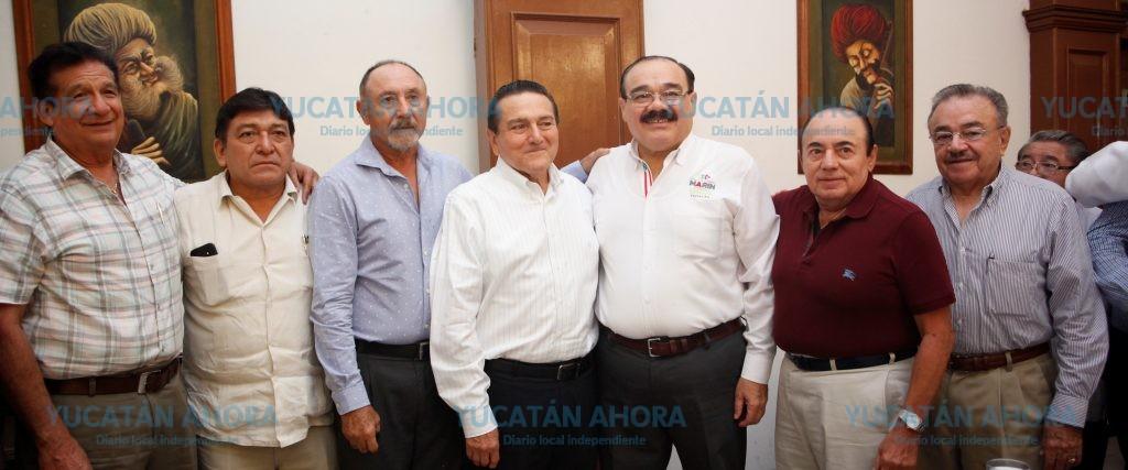 La 'vieja guardia' del PRI refrenda su apoyo a Ramírez Marín