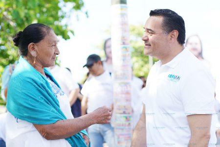 Va con todo Renán Barrera para cuidar la gran fuente de agua de Mérida