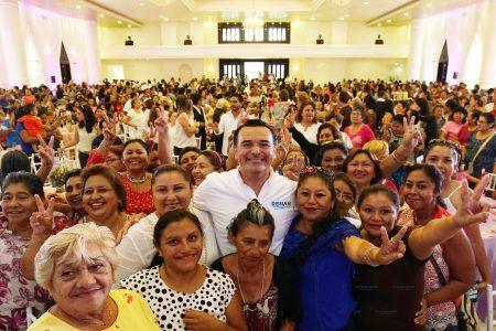Garantizaremos un futuro mejor para las mujeres: Renán Barrera