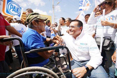 Renán Barrera quiere una Mérida de armonía entre peatones y vehículos