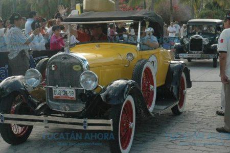 Este lunes arriban a Mérida los 110 vehículos del Rally Maya 2018