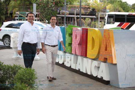 La ciudadanía exige una renovación de la movilidad, coinciden Mauricio Vila y Renán Barrera