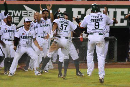 Victoria de Leones de Yucatán en el primero los playoffs: 5-0