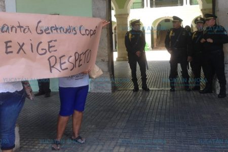 Habitantes de Santa Gertrudis Copó piden ayuda para detener la invasión de su hacienda