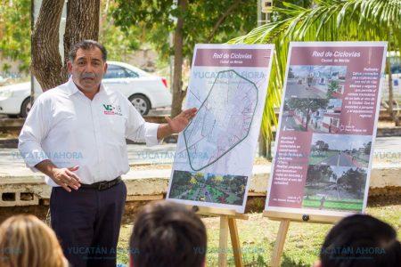 Anuncia Víctor Caballero un plan de reordenamiento vial para Mérida