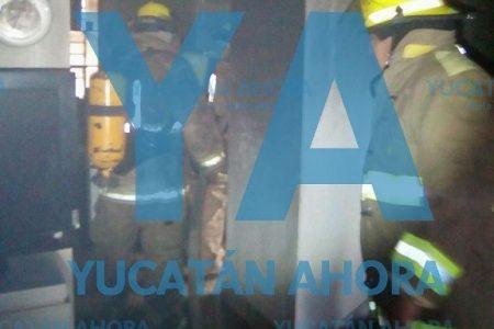 Se les quema su cuarto con aire acondicionado, en el sur de Mérida
