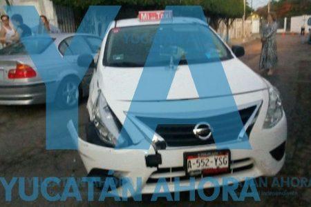 Ebrio, taxista del FUTV se impacta contra un BMW en el Campestre