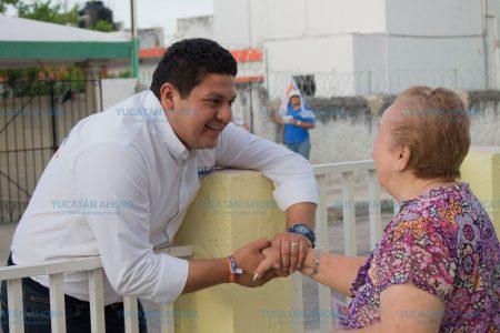 Víctor Merari ofrece que será un diputado cercano a la gente