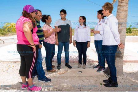 Nueva imagen y vida al malecón de Progreso, ofrece María del Carmen Ordaz