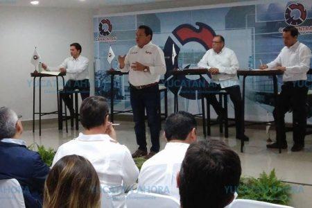 Ante Canacintra, candidatos se comprometen a despolitizar temas de desarrollo