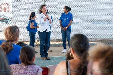 María del Carmen Ordaz se compromete con grupos vulnerables de Progreso