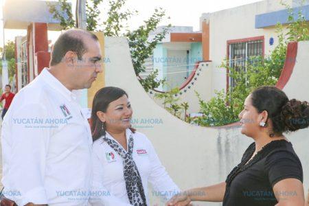 Tenemos que responderles con trabajo, dice Felipe Cervera en el sur de Mérida