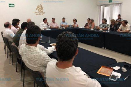 Coparmex Mérida conversa con Jorge Zavala y Huacho Díaz