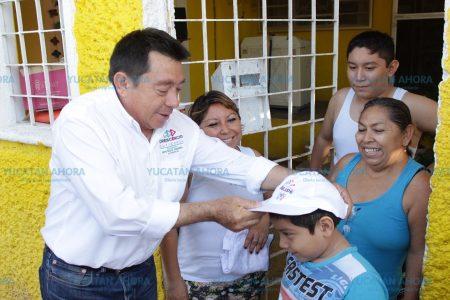Que la niñez crezca segura y con oportunidades: Crescencio Gutiérrez