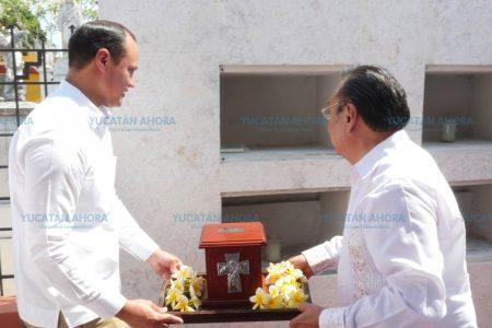 Cenizas de José Díaz Bolio ya descansan en el Monumento a los Creadores
