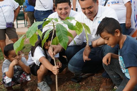 Renán Barrera planea adquirir energía 100% limpia para iluminar Mérida