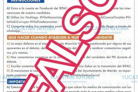 El PAN denuncia 'guerra sucia digital' en horas previas al debate