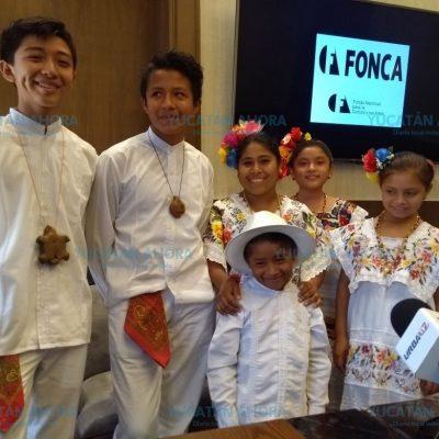 Alemania ovaciona de pie a pequeños cantores mayas de Yucatán
