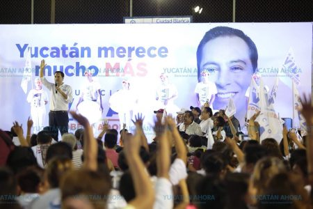 Vila ofrece dignificar la policía yucateca para que sea la mejor de Latinoamérica