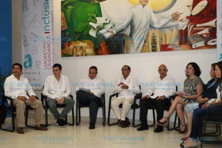 Inaugura Uady laboratorio ciudadano de inclusión