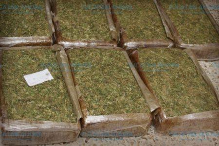 Detenidos en la Nueva Pacabtún con 162 kilos de marihuana