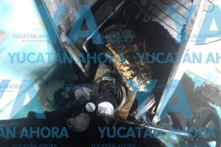 Joven pierde todo en un incendio en el centro de Mérida