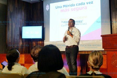 Para mantener la seguridad de Mérida trabajaremos la prevención y la intervención: Renán