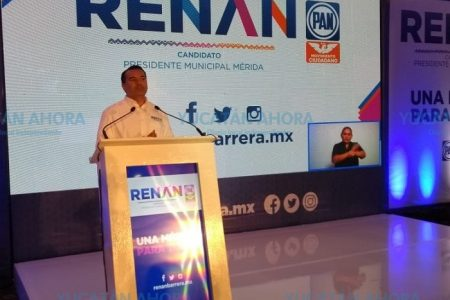 Presenta Renán Barrera plan de trabajo 'Una Mérida para todos'