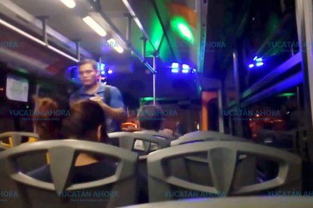 Muere en el último viaje del Metropolitano en Mérida