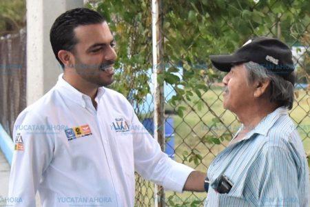 Las campañas se ganan en las calles de las colonias y comisarías: Elías Lixa