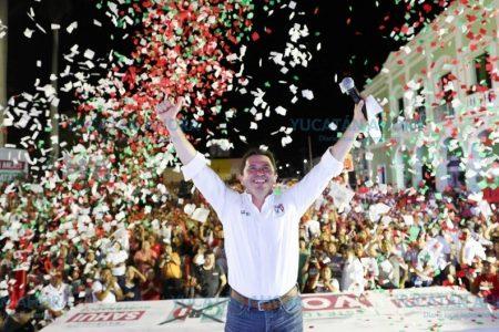 Confiado Mauricio Sahuí de ganar contundentemente