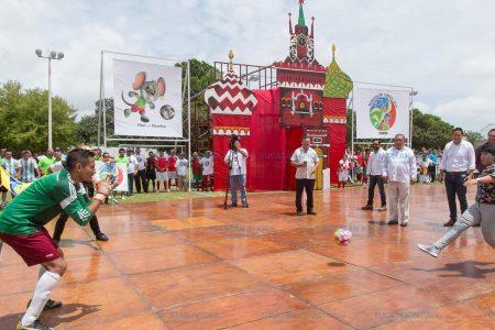 En el Penal meridano ya rueda el balón mundial