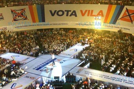 Ganará el Yucatán que no se conforma y que sabe que merece mucho más: Mauricio Vila