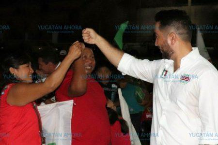 Luis Borjas reafirma sus compromisos con los yucatecos