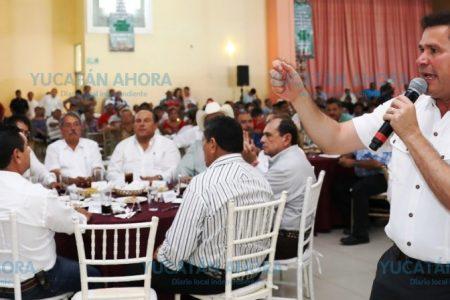Ofrece Mauricio Sahuí plan para engrandecer la ganadería yucateca