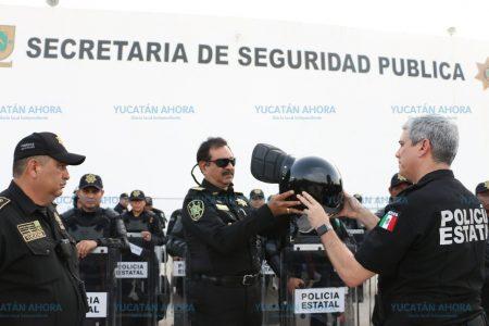 Se trasladan a municipios claves de Yucatán miles de policías estatales
